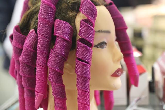 rizar cabello sintetico