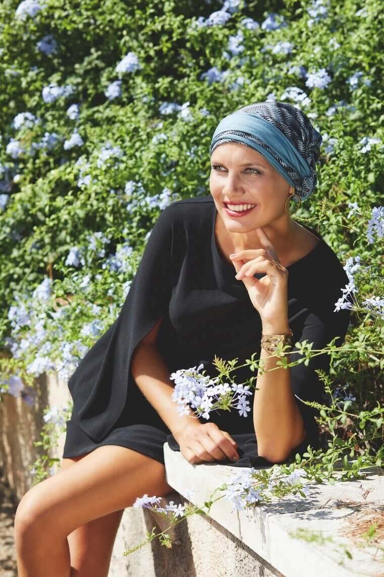 Turbantes y pañuelos oncológicos de verano e invierno