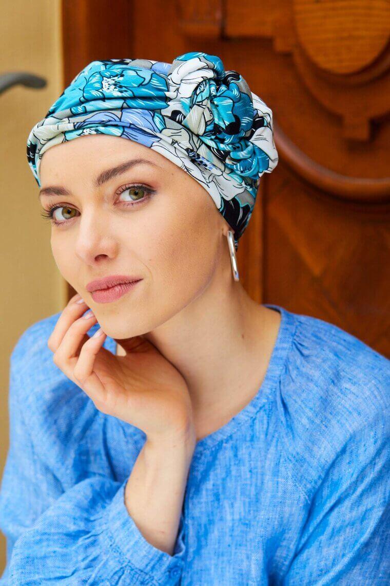 Pañuelos oncológicos cómodos y transpirables