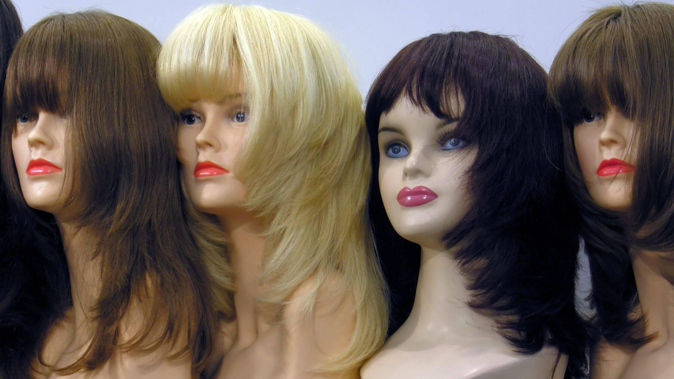 Pelucas oncológicas de pelo natural y sintéticas