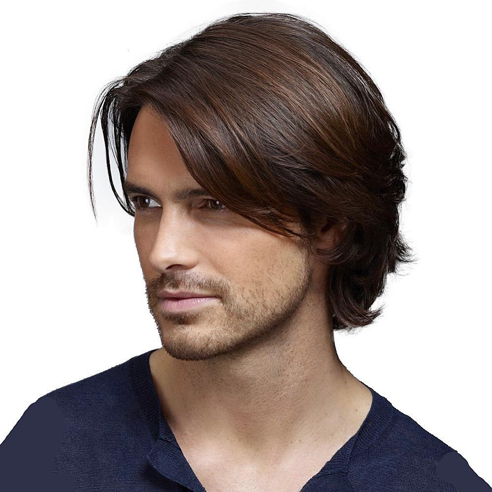 pelucas de pelo natural para hombre